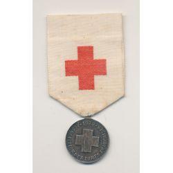 Médaille - Croix rouge - 1879 - Association des dames Françaises