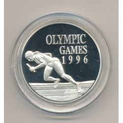 Jamaique - 10 Dollars 1996 - Jeux Olympique 1996 - argent