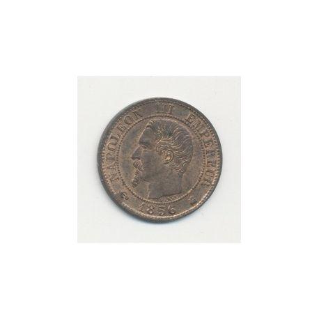 1 Centime Napoléon III - Tête nue - 1856 K Bordeaux