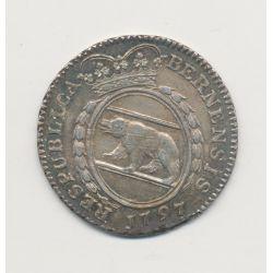 Suisse - 1/4 Thaler 1797 B Berne - argent - SUP+