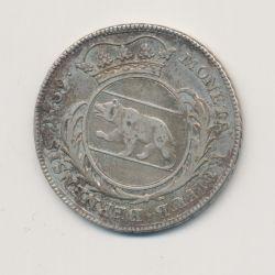 Suisse - 1/4 Thaler 1759 - argent - TTB