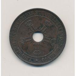Congo Belge - 10 Centimes 1888 - bronze - TTB+