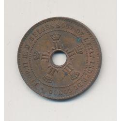 Congo Belge - 2 Centimes 1888 - bronze - TTB+