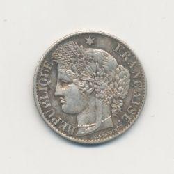 50 centimes Cérès - 1888 A Paris - TTB+