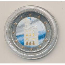 2 Euro couleur - Saint Marin 2011