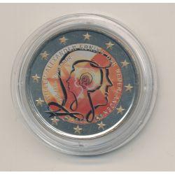 2 Euro couleur - Pays-Bas 2013 - Béatrix et Prince Willem-Alexander