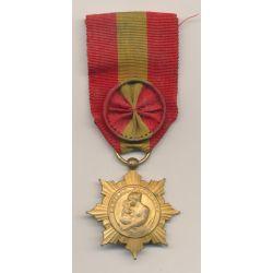 Médaille - Famille Française Or - ordonnance