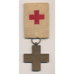 Médaille - Croix rouge - Secours aux blessés - 1870-1871
