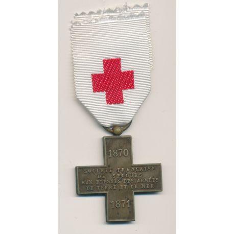 Médaille - Croix rouge - 1870-1871