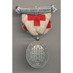 Médaille - Union  des Femmes de France - Croix-rouge - ordonnance