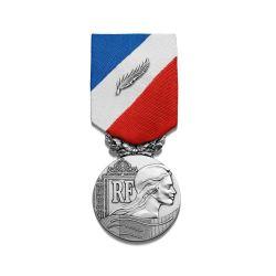 Médaille de la sécurité intérieure - grade argent - ordonnance