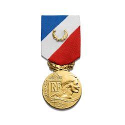 Médaille de la sécurité intérieure - grade or - ordonnance