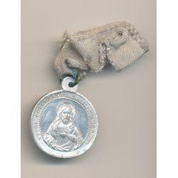 Médaille - Jésus avec son ruban - alu - 25mm