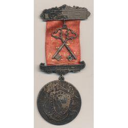 Médaille Maçonnique - Loge Strafford - agrafe C.H.P avec 2 clés  - Missouri - Etats-Unis