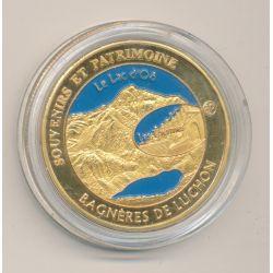 Medaille - Bagnères de Luchon - en couleur