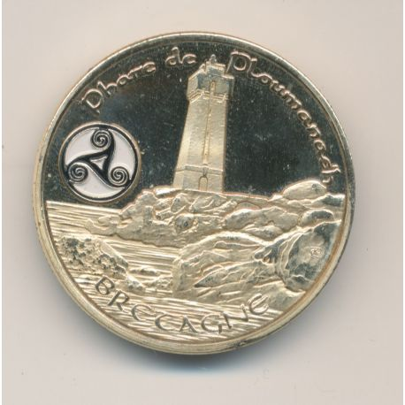 Medaille - Phare de Ploumanac'h - Bretagne - en couleur