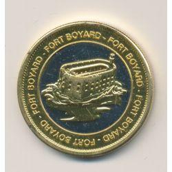 Medaille - Fort boyard - bi métallique
