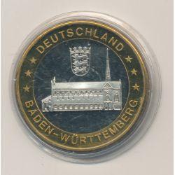 Jeton/Token - Deutschland - Baden-Württemberg - ni métallique - 35mm