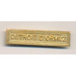 Agrafe Detroit d'ormuz - pour ordonnance