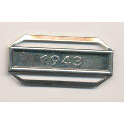 Agrafe 1943 - pour ordonnance