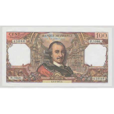 100 Francs Corneille - 4.2.1977 - P.1046 - NEUF
