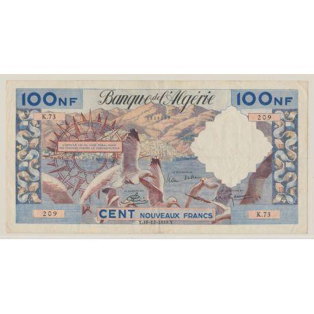 Algérie - 100NF Mouettes - 18.12.1959 - K.73 - TTB+