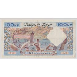 Algérie - 100NF Mouettes - 31.7.1959 - A.53 - TB+