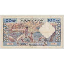 Algérie - 100NF Mouettes - 18.12.1959 - P.90 - TTB