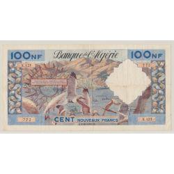 Algérie - 100NF Mouettes - 3.6.1960 - K.125 - TTB+