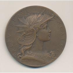 Médaille - Concours de Tir - bronze - 51mm - TTB+