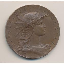 Médaille - Concours de Tir - bronze - 51mm - SUP
