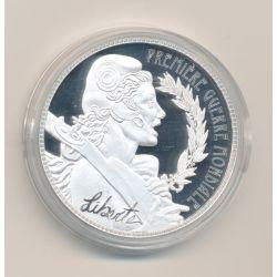 Médaille - Première guerre mondiale - liberté - Les Emblèmes Français - cuivre argenté - 40mm