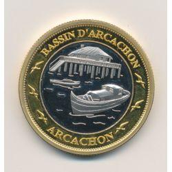 Médaille - Bassin d'arcachon - dune du pilât - 33mm