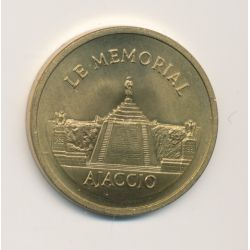 Médaille - le mémorial Ajaccio - 30mm
