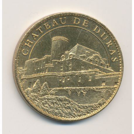Médaille - Chateau de Duras - Trésors de France - 34mm