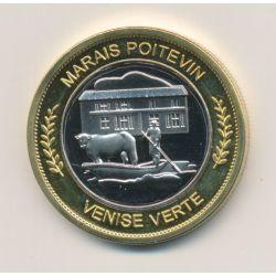 Médaille - Marais poitevin - 33mm