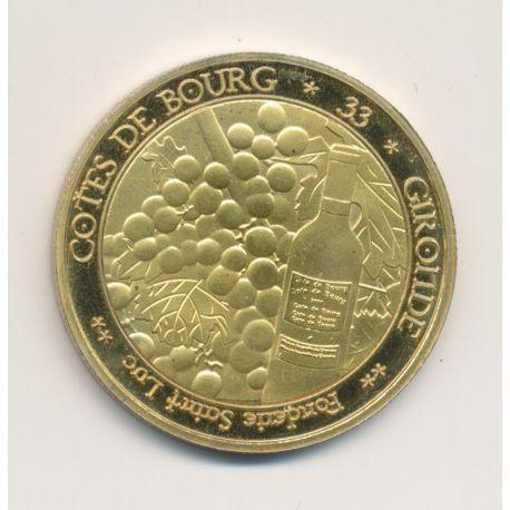 Médaille - Cotes de Bourg - 34mm