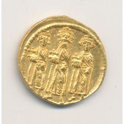 Solidus Or - Héraclius et ses fils - SUP+