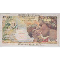 Billet - 20NF sur 1000 Francs Reunion - 1971 - TTB