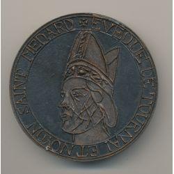 Médaille - Évèque de Tournai et Noyon - St medard - 1969 - 59mm