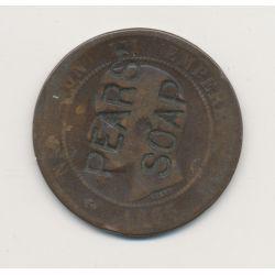 Monnaie publicitaire - 10 centimes 1862 Napoléon III - Pears soap