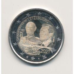 2€ Luxembourg 2021 - centenaire naissance Grand-Duc Jean - Type photo