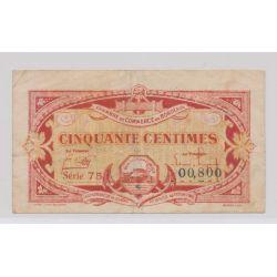 Dept 33 - 50 Centimes 1920 - série 75 - TB+