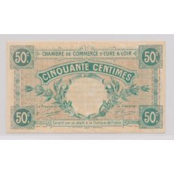 Dept 28 - 50 Centimes 1915 - Eure et Loir - TTB