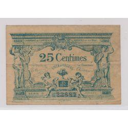 Dept49 - 25 Centimes 1917 - Angers - série D - TB