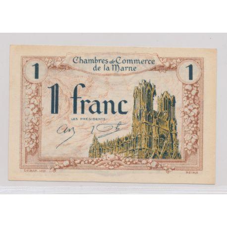 Dept51 - 1 Franc 1922 - La Marne - SUP
