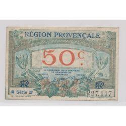 50 Centimes - Région provençale - série 27 - TTB