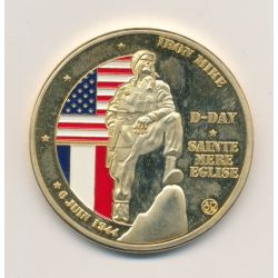 Médaille - Sainte mère l'église - D-Day - 6 juin 1944 - 40mm