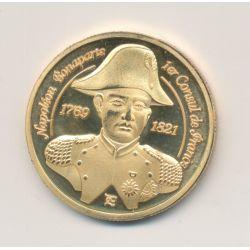 Médaille - Napoléon Bonaparte - 1er consul de France - Napoléon à cheval - 31mm