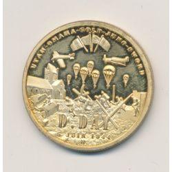 Médaille - parachutistes - D-Day - 6 juin 1944 - 31mm